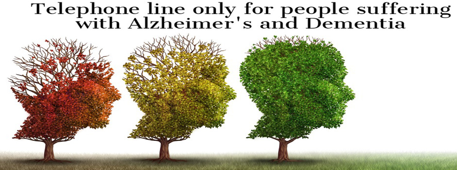 Telephone lines for people with Alzheimer's and Dementia